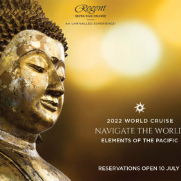 Croisiere Tour du monde regent 2022 - ouverture des ventes le 10 juillet 2019