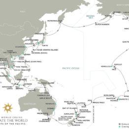 Croisière Tour du monde Regent 2022