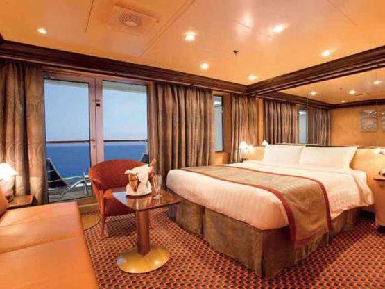 cabine balcon du Costa Deliziosa
