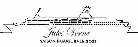 inauguration bateau Jules Verne saison 2021